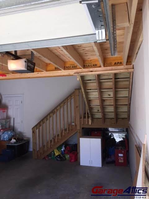 Walk Up Stairs 3. Garage Attics