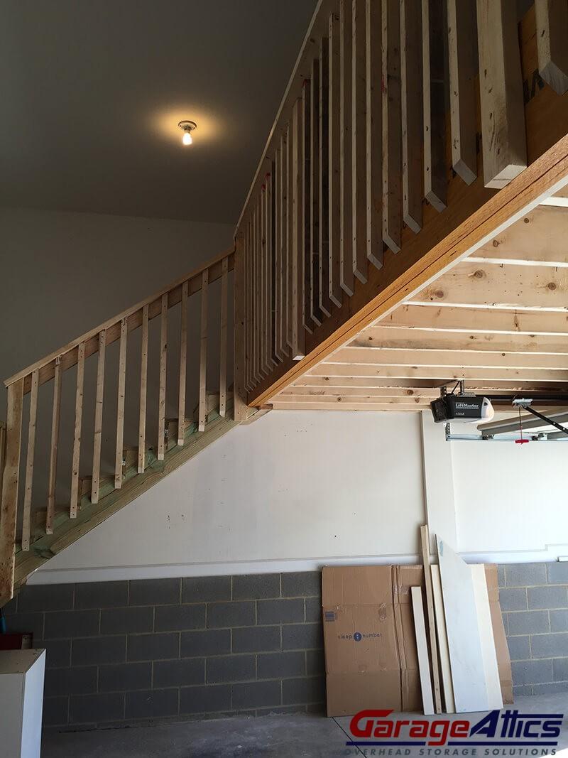 Walk Up Stairs 5. Garage Attics