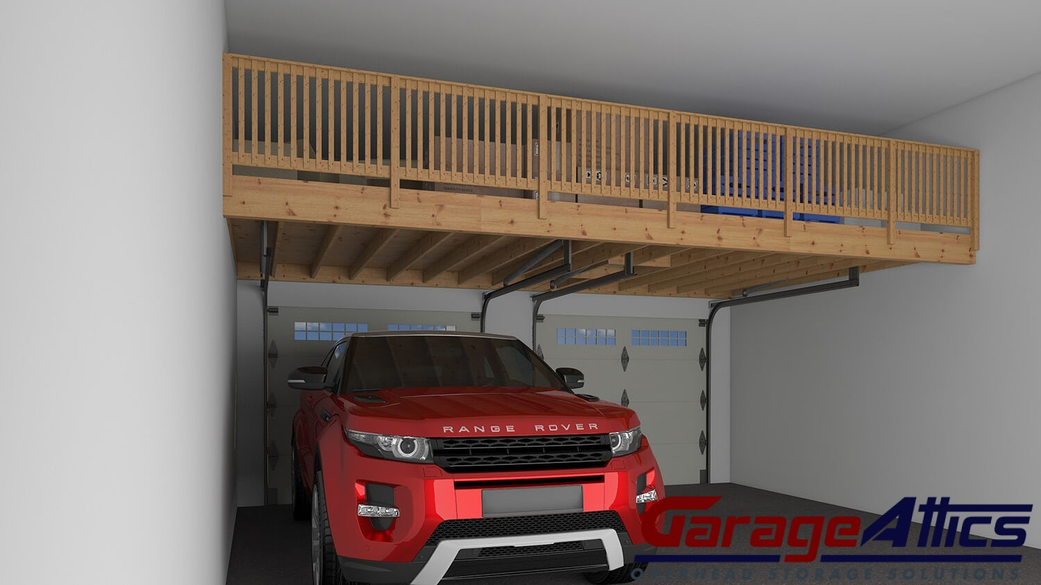 Garage Storage Ideas Custom Overhead Lofts amp Wall Shelving