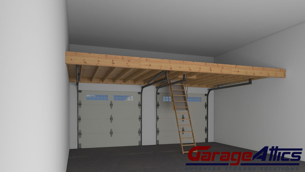 Garage organization services custom overhead garage for Diy garage storage loft