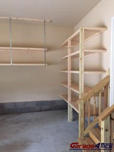 garage storage shelves - Garage Wall Shelving