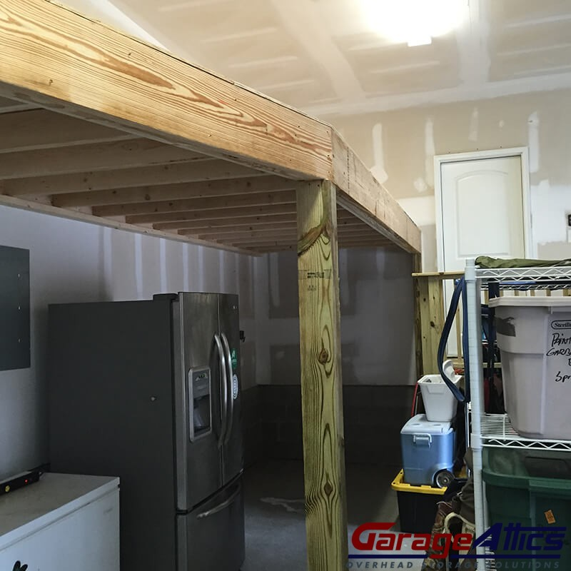 Garage Storage Loft Solutions Custom Overhead Garage
