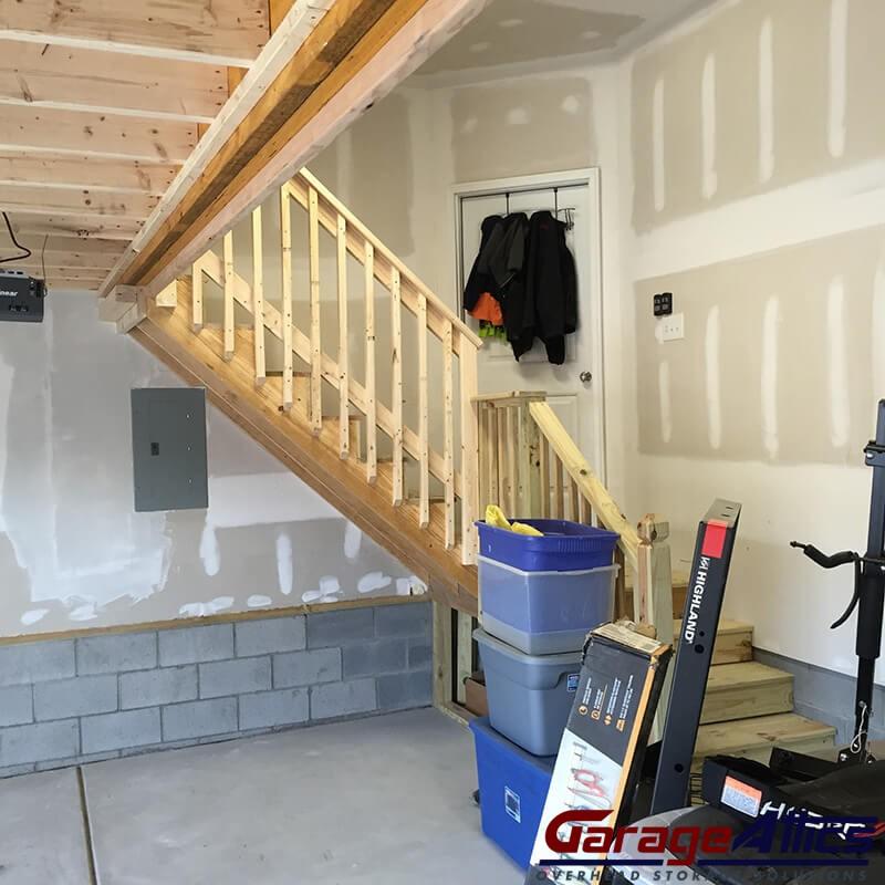 Over Garage Attic Storage