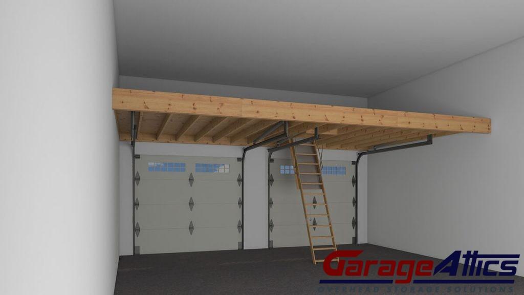 Overhead Garage Storage Solutions | Massive Garage Storage ...